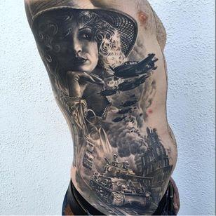 Stunning WWII piece by Remis Cizauskas #RemisCizauskas #WWI #WWII #soldier #war #heroe #centenary #worldwar