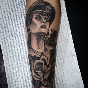 #marinheira #flor #flower #sailor #AlcidesCorrea #TatuagemSolidaria #DesejoDoVictor #brasil