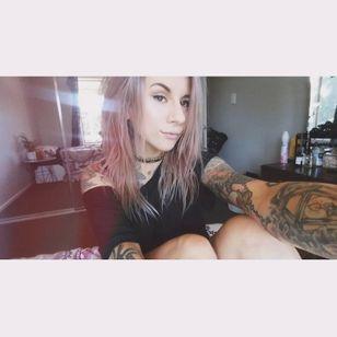 Carla Evelyn on Facebook. #aussie #tattoodobabe #australian #tattooartist #CarlaEvelyn