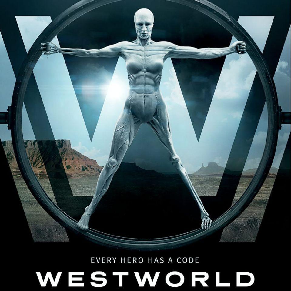 A promo image for HBO's Westworld. #HBO #Westworld