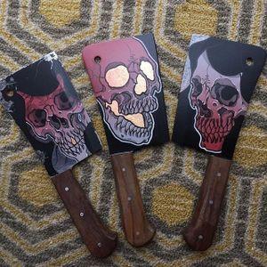 Cleavers by Nicholas Keiser #cleaver #cleavers #customknives #customknife #knife #knifeart #blade #NicholasKeiser