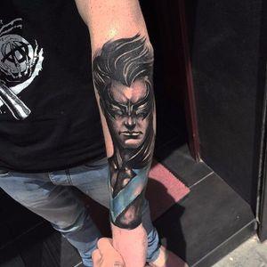 Nightwing Tattoo by Toni Taliana #Nightwing #DC #comics #ToniTaliana