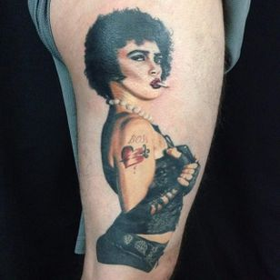 Rocky Horror Picture Show tattoo by Damask Tattoo. #rockyhorror #rockyhorrorpictureshow #theater #film #classic