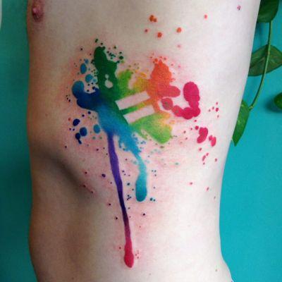 Igualdade colorida #OrgulhoGay #GayPride #OrgulhoLGBT #ParadaGay #GayParade #preconceitoNao #amorlivre #freelove #arcoiris #rainbow #equality #igualdade #watercolor #aquarela