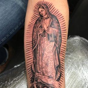 Virgin Mary by Michelle Myles (Via IG - daredevilmichelle) #daredevil #flash #traditional