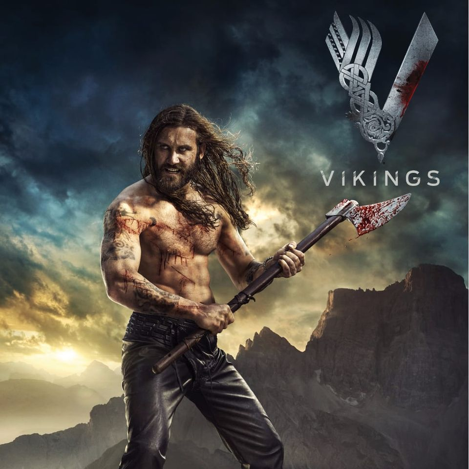 Rollo da série Vikings, interpretado por Clive Standen #Vikings #Nordic #Nórdicos