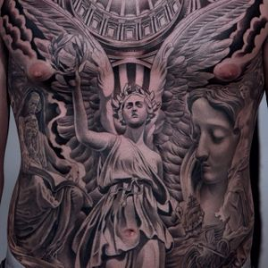 Full torso made by Juncha. (via: @juncha) #blackandgrey #torso #juncha