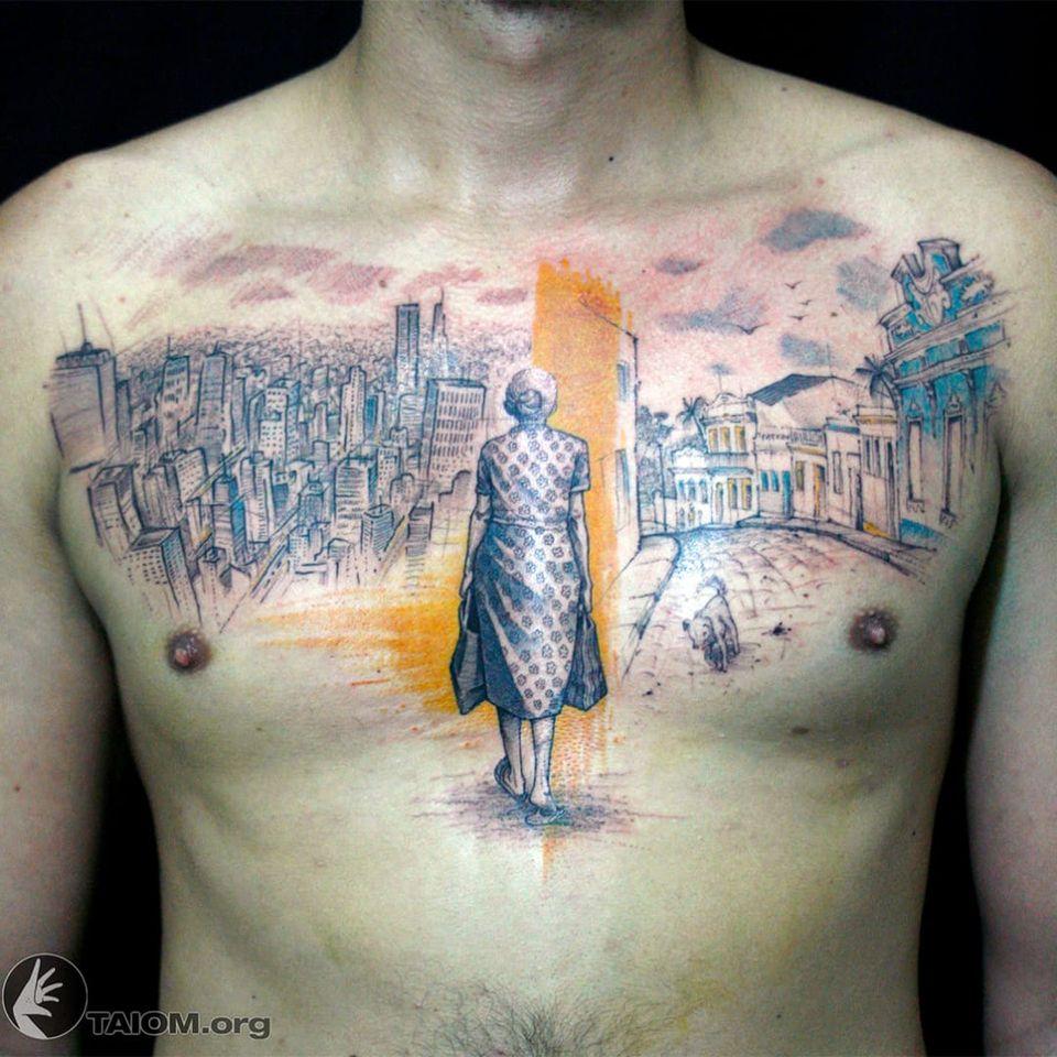 Trabalho feito por Taiom! #Taiom #Tatuadoresbrasileiros #TattooBrasil #TattooBr #TattoodoBr #conceitual #concept #conceptual #woman #mulher