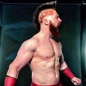 The Celtic Warrior Looking Fierce #sheamus #wwe #sheamuswwe #wrestling #bodymodartist #bodymodification #wrestling #wrestler #raw #specialeffects
