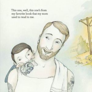 One of the pages from Tell Me a Tattoo Story. #AlisonMcGhee #childrensbooks #ElizaWheeler #TellMeaTattooStory