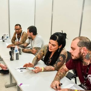 Corpo de jurados. #TattooExperience #texp2016