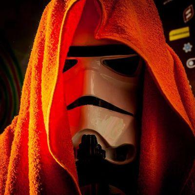 #nerd #geek #diadoorgulhonerd #diadatoalha #stormtrooper