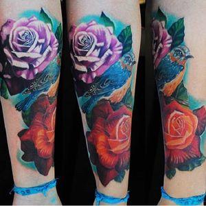 #flores #flowers #colorida #colorful #CleberFrança #talentonacional #tatuadorBrasileiro #brasil