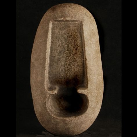 A inkstone, like those used in sumi-e and Irezumi from the early 1900s. #inkstone #Irezumi #Japanese #tebori #traditional