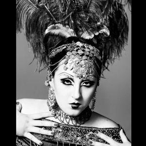 Stunning vintage look Kerosene looks like a 1940's Hollywood startlet Photo by Andrea Hausmann #KeroseneDeluxe #plusmodel #tattooedlady #model #fetish #pinup #tattoomodel #AndreaHausmann
