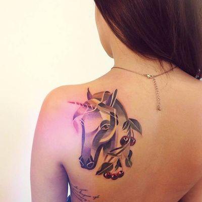 #SashaUnisex #unicorn #unicornio #horse #cavalo #criaturamitica #cherry #cereja