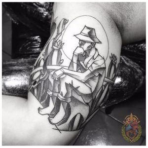Sertanejo #ApolonioLuz #tatuadoresbrasileiros #tatuadoresdobrasil #sketchtattoo #blackwork