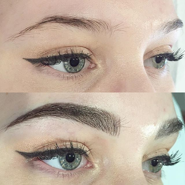 Microblading, Image Source: Shaughnessy Keely #cosmetics #eyebrows #Microblading #consmetictattooing