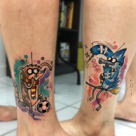 #BrandonBec #brasil #brazil #brazilianartist #colorido #colorful #regularshow #apenasumshow #desenho #animação #comics #harrypotter #movie #filme #nerd #geek #vassoura #broom #bola #ball