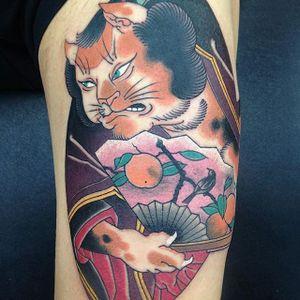 Japanese Tattoo by Junior Tattoo #JapaneseTattoo #JapaneseTattoos #ClassicJapanese #AsianTattoos #JapaneseTattooArtists #BoldTattoos #BoldJapanese #JuniorTattoo