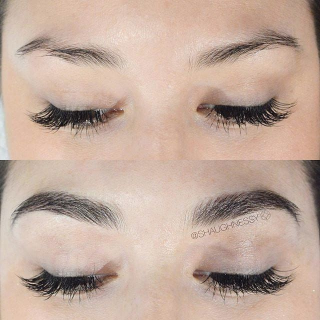Before & After. #cosmetics #eyebrows #Microblading #consmetictattooing