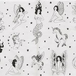 Flash by Tati Compton (via IG-taticompton) #taticompton #women #flash #handpoke #tattooflash