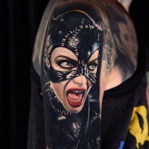 Selina Kyle de Batman: O Retorno #NikkoHurtado #gringo #realismo #realism #realismocolorido #SelinaKyle #batman #mulhergato #catwoman #MichellePfieffer #movie #filme #nerd #geek #dc #portrait #retrato