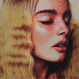 Freckled beauty via @thanimara #ARTSHARE #thanimara #fineartist