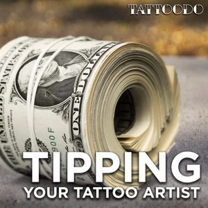 Tipping Your Tattoo Artist #TattoodoGuide #Guide #Tipping #Money