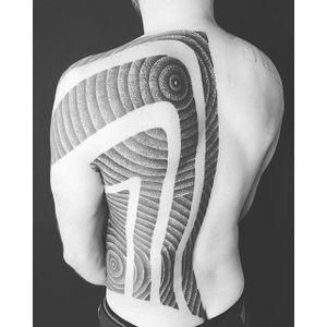 Tattoo by Matt Black #blackwork #dotwork #pattern #black #MattBlack