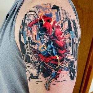 Flash #MarkDuham #LigadaJustiça #JusticeLeague #movie #filme #comic #hq #cartoon #nerd #geek #dc #theflash #barryallen
