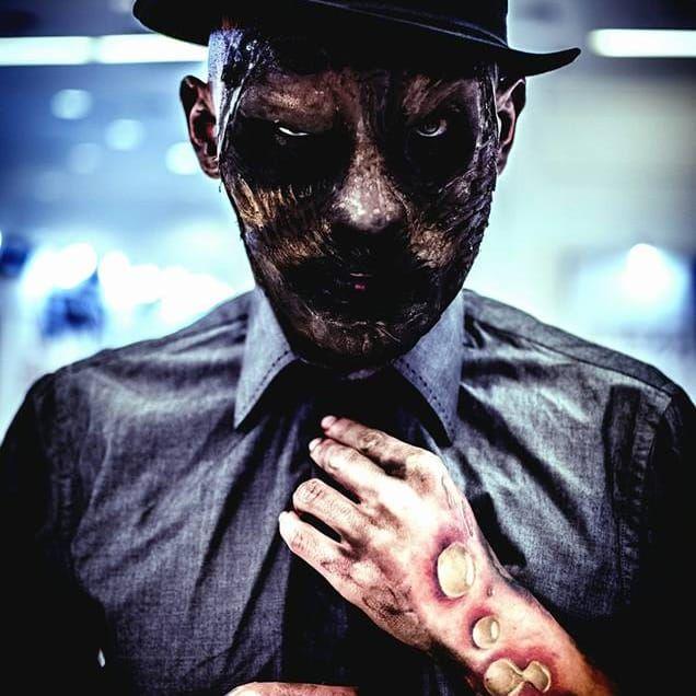Coveitro Maldito, foto por Guilherme Mesquita   Tattuagem Multimídia #TattooWeek #TattooWeekRio #RiodeJaneiro #convenção #ConvençãoDeTatuagem #evento #TattuagemMultimidia #CoveiroMaldito #MegaWartz #KingSeven