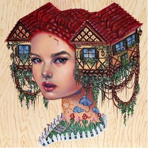 """Hausfrau"" via @relmxx #Relm #ARTSHARE #painting #fineartist"