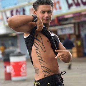 Pauly D's totally badass Cadillac tattoo. #Caddy #Cadillac #PaulyD