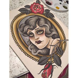 Sad Girl via instagram olivia_olivier #woman #freckles #flowers #sad #frame #flashart #oliviaolivier
