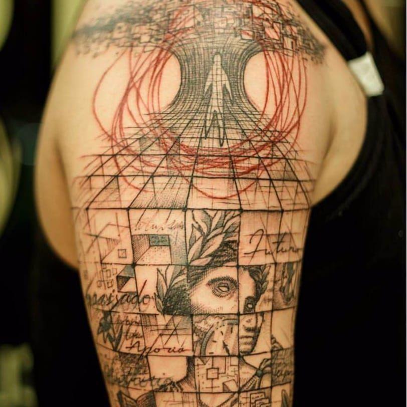 Tattoo por Taiom! #Taiom #Tatuadoresbrasileiros #TattooBrasil #TattooBr #TattoodoBr #conceitual #concept #conceptual