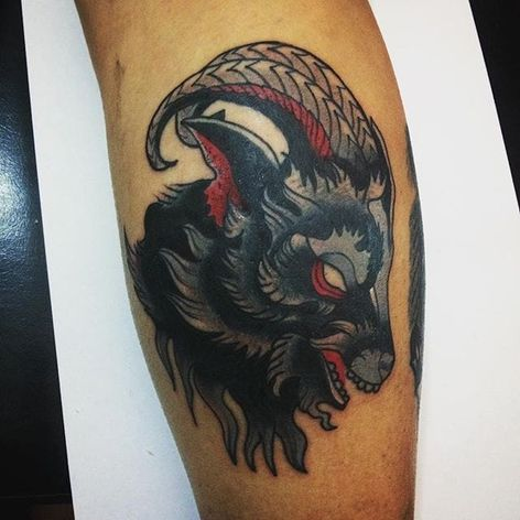 Profile of Phillip. (via IG—kadutropeco) #BlackPhillip #Goat #666 #Devilish #Devil #Satan #SatanicGoat