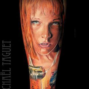 Leelo from The Fifth Element. (via IG - michaeltaguet) #realism #celebrity #portrait #michaeltaguet #leelo #fifthelement