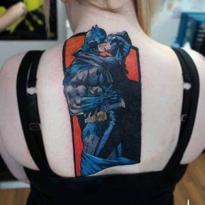 Catwoman Tattoo by Chris Morris #Catwoman #Batman #DCComics #ChrisMorris