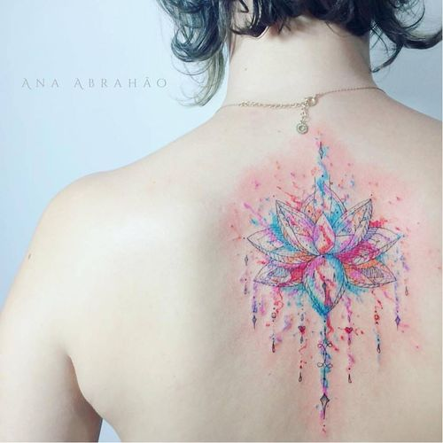 #AnaAbrahao #aquarela #watercolor #delicadas #fineline #TatuadoresDoBrasil #TatuadorasDoBrasil #brasilia #brasil