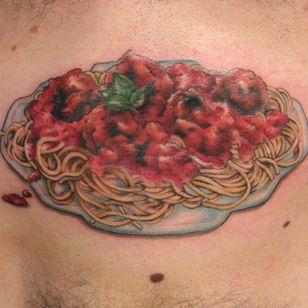Hey pastamouth. Get this Italian tatoo.
