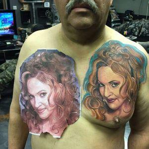 Madonna - Instagram: @tattoo_and_street_art #celebritytattoo #portrait #celebrityportrait #Madonna