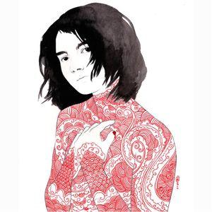 Bodysuit via @stasiaburrington #StasiaBurrington #fineartist #ARTSHARE #floral