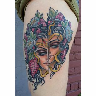 Beautiful nature lady by @chelsearhea #ChelseaRhea #ladyhead #traditional