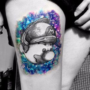 Super Mario World tattoo by Geem. #Geem #supermario #videogame