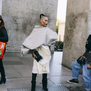Paris Fashion Week (Women's), Photo: Phil Oh #FashionWeek #ParisFashionWeek #StreetStyle #fashion #PhilOh #style