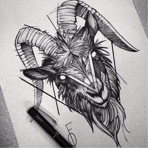 #goat #bode #tatuadoresbrasileiros #tatuadoresbrasil #fredaooliveira
