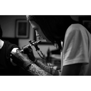 Tattoo artist Helen Hitori #HelenHitori #blackwork #artist