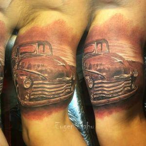 #carro #cars #EugenMahu #realismo #realismocolorido #gringo #tatuadorgringo #brasil #brazil #portugues #portuguese
