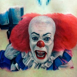 Flawless no line piece by David Corden #Pennywise #IT #StephenKing #clown #reboot #TimCurry #horror #realism #DavidCorden #nolines
